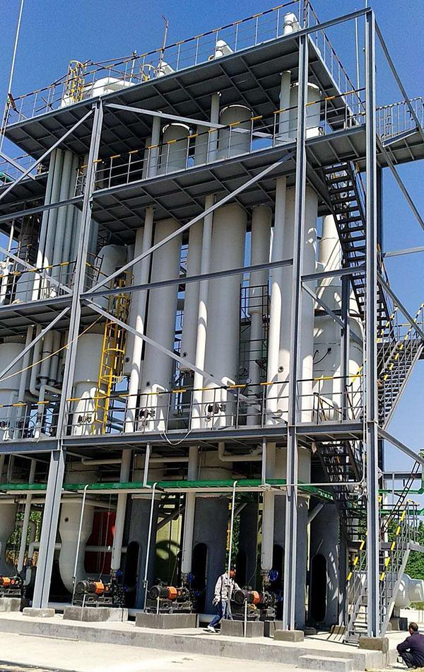 泰盛化工30T和60T高盐废水万博体育最新版结晶装置